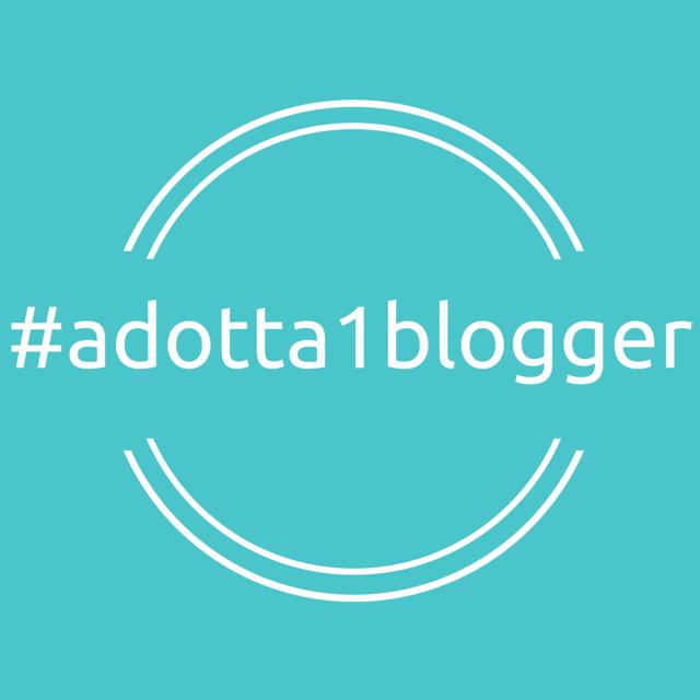 Adotta 1 blogger